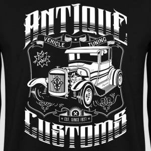 Hot Rod - Antique Customs (white) Pullover & Hoodies - Männer Pullover