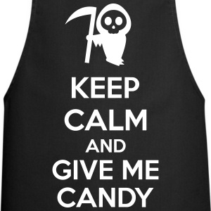 Keep Calm And Give Me Candy Fartuchy - Fartuch kuchenny