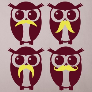 hipster owls - Sofa pillow cover 44 x 44 cm