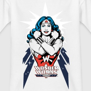 Wonder Woman Power 2 Tonåring T-Shirt - T-shirt tonåring