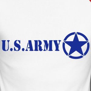 usa army 03 Manches longues - T-shirt baseball manches longues Homme