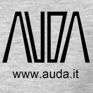 ~ t-shirt con logo AUDA per colori chiari