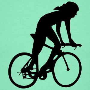 cycling woman T-Shirts - Men's T-Shirt