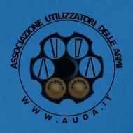 ~ maglietta logo AUDA su tamburo (per capi chiari)