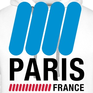 Paris, France Hoodies & Sweatshirts - Men's Premium Hoodie