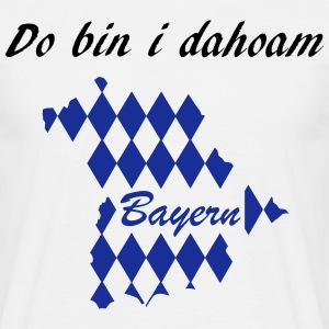 Do bin i dahoam - Männer T-Shirt