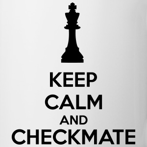 Keep Calm And Checkmate   Kubki i dodatki - Kubek