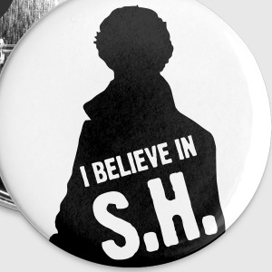 I Believe In S.H. Buttons - Buttons small 25 mm