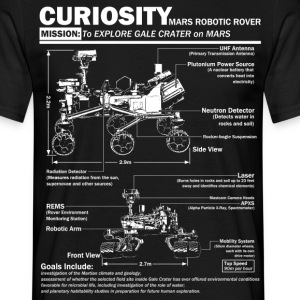 Curiosity Mars Rover - Men's T-Shirt