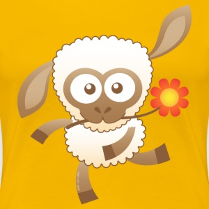 Cute Baby Sheep T-Shirts - Women's Premium T-Shirt