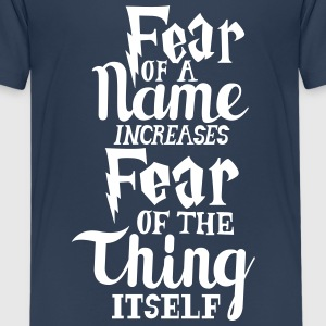 Harry Potter Fear T-Shirts - Teenager Premium T-Shirt
