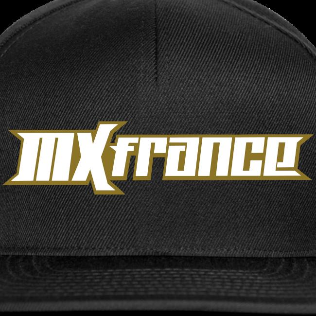 Casquete Snapback MXfrance Blanc/OR