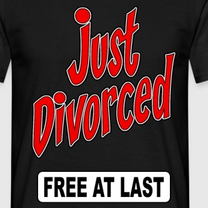 just divorced 01 Tee shirts - T-shirt Homme