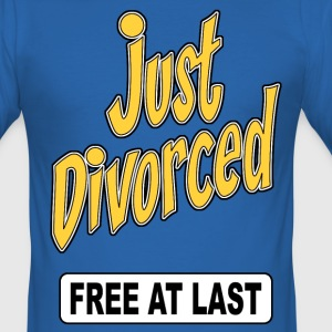 just divorced 02 Tee shirts - Tee shirt près du corps Homme