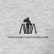 ~ maglietta con logo AUDA e soldato (per capi chiari)