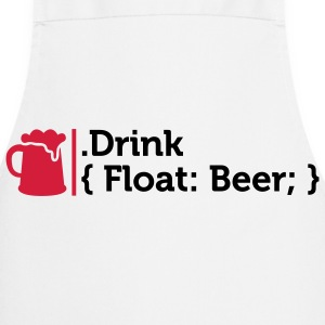CSS jokes - Drink Beer!  Aprons - Cooking Apron