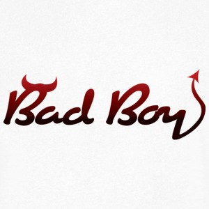 Bad Boy! T-shirts - Mannen T-shirt met V-hals