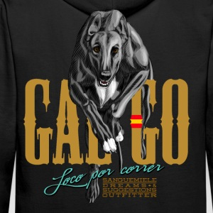 galgo Sweat-shirts - Sweat-shirt à capuche Premium pour hommes