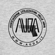 ~ maglia con logo AUDA e colt 1911 (per capi chiari)