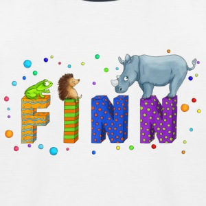 Finn-Shirt - Kinder Baseball T-Shirt