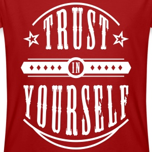 Trust in Yourself T-Shirts - Männer Bio-T-Shirt