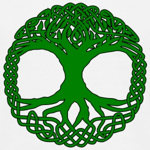 celtic tree of life knots Magliette - Maglietta da uomo