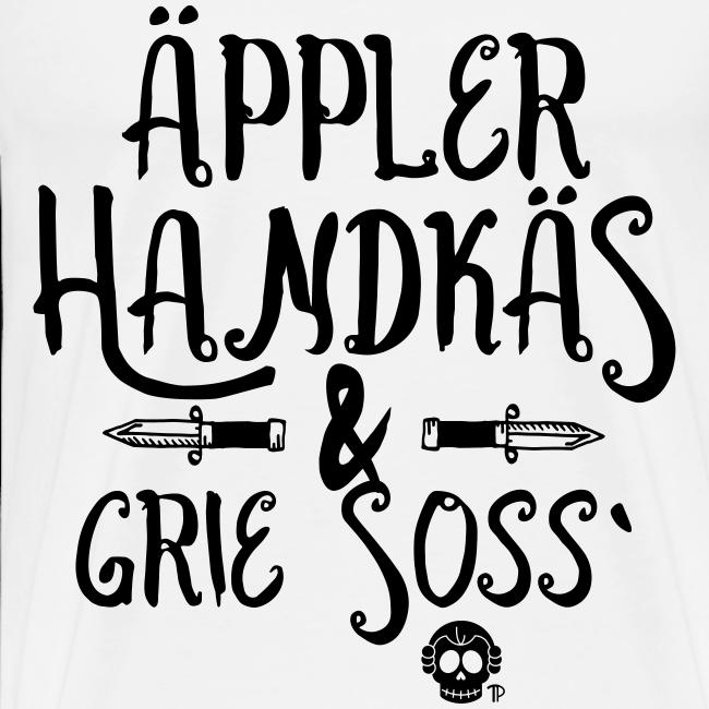 Äppler Handkäs und Grie Soss