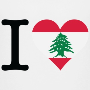 I Love Lebanon T-shirts - Teenager premium T-shirt