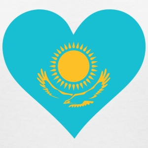 A heart for Kazakhstan T-Shirts - Women's V-Neck T-Shirt