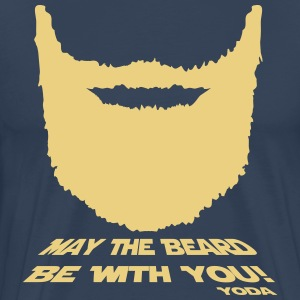 May the beard be with you! - Mannen Premium T-shirt