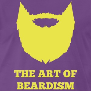 The art of beardism - Mannen Premium T-shirt