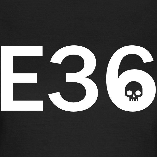 E36 Skull Tribal Art
