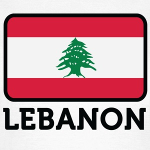 National Flag of Lebanon T-skjorter - T-skjorte for kvinner