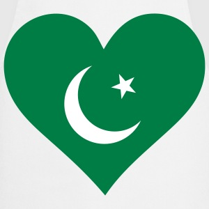 A heart for Pakistan  Aprons - Cooking Apron