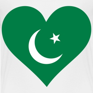 A heart for Pakistan Shirts - Teenage Premium T-Shirt