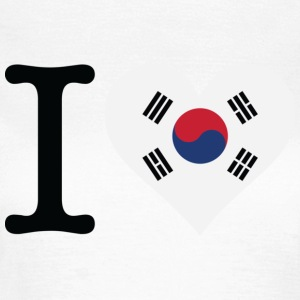 I Love South Korea T-Shirts - Women's T-Shirt