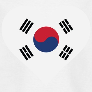 I Love South Korea Shirts - Kids' T-Shirt