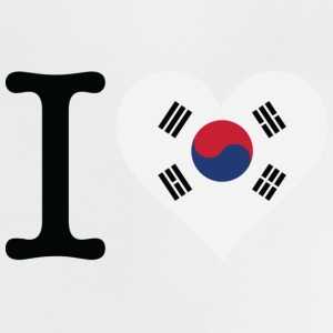 I Love South Korea Shirts - Baby T-Shirt