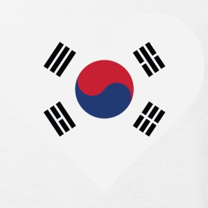 I Love South Korea Shirts - Kids' Organic T-shirt