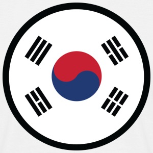 Marked by South Korea T-Shirts - Men's T-Shirt