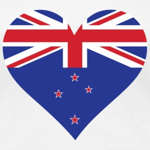 A heart for New Zealand T-Shirts - Women's Premium T-Shirt