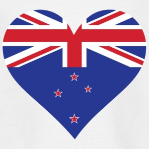 A heart for New Zealand Shirts - Teenage T-shirt