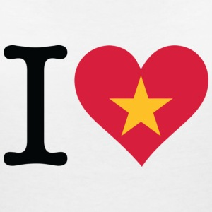 I Love Vietnam T-Shirts - Women's V-Neck T-Shirt