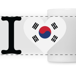 I Love South Korea Mugs & Drinkware - Panoramic Mug