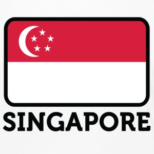 National Flag of Singapore Skjorter med lange armer - Premium langermet T-skjorte for kvinner