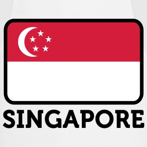 Nationale Vlag van Singapore Kookschorten - Keukenschort