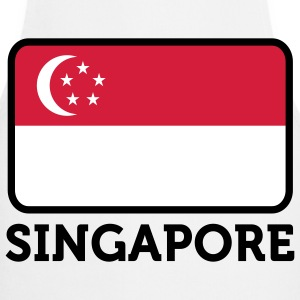 National Flag of Singapore Forklær - Kokkeforkle