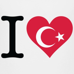 I Love Turkey T-shirts - Børne premium T-shirt