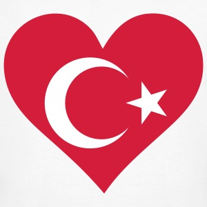 A heart for Turkey T-Shirts - Men's Organic T-shirt