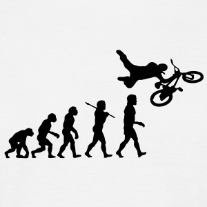 Freestyle BMX Evolution - Men's T-Shirt